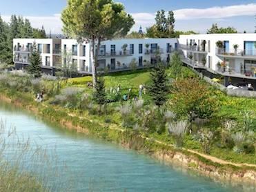 Appartement immobilier neuf pour défiscalisation en loi pinel dans le 30 à Aigues-Mortes