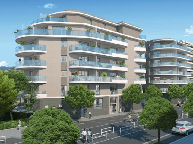 Appartement immobilier neuf pour défiscalisation en loi pinel dans le 06 à Nice
