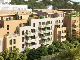 Appartement immobilier neuf pour défiscalisation en loi pinel dans le 06 à Grasse