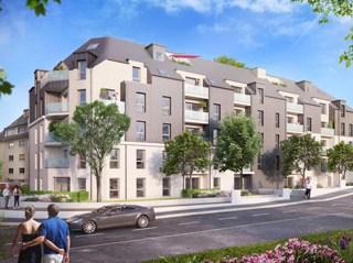 Appartement immobilier neuf pour défiscalisation en loi pinel dans le 14 à Caen