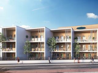Appartement immobilier neuf pour défiscalisation en loi pinel dans le 17 à La Rochelle