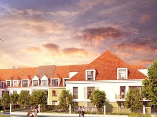 Appartement immobilier neuf pour défiscalisation en loi pinel dans le 95 à Domont