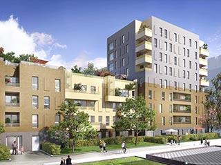 Appartement immobilier neuf pour défiscalisation en loi pinel dans le 95 à Sarcelles