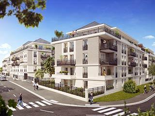 Appartement immobilier neuf pour défiscalisation en loi pinel dans le 95 Saint Gratien