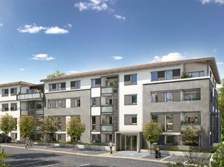 Appartement immobilier neuf pour défiscalisation en loi pinel dans le 31 à Castanet Tolosan