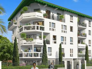 Appartement immobilier neuf pour défiscalisation en loi pinel dans le 64 à Biarritz