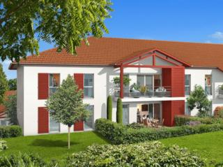 Appartement immobilier neuf pour défiscalisation en loi pinel dans le 64 à Lahonce