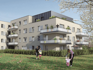 Appartement immobilier neuf pour défiscalisation en loi pinel dans le 76 à Saint-Léger du Bourg Denis