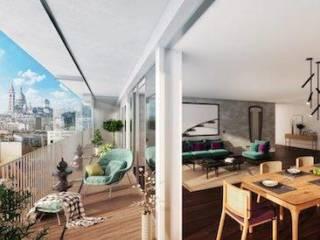 Appartement immobilier neuf pour défiscalisation en loi pinel dans le 75 à Paris 18ème