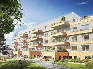 Appartement immobilier neuf pour défiscalisation en loi pinel dans le 35 à Vezin-le-Coquet