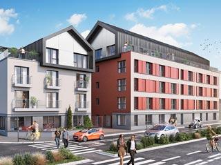 Appartement immobilier neuf pour défiscalisation en loi pinel dans le 35 à Rennes