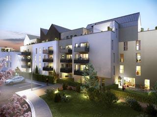 Appartement immobilier neuf pour défiscalisation en loi pinel dans le 37 à Tours