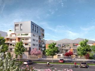 Appartement immobilier neuf pour défiscalisation en loi pinel dans le 38 à Saint-Martin-d'Hères