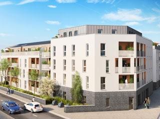 Appartement immobilier neuf pour défiscalisation en loi pinel dans le 44 à Nantes