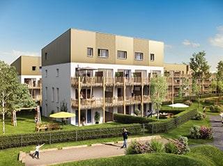 Appartement immobilier neuf pour défiscalisation en loi pinel dans le 44 à Saint-Nazaire