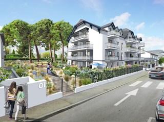 Appartement immobilier neuf pour défiscalisation en loi pinel dans le 44 à La Baule Escoublac