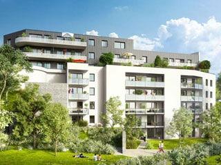 Appartement immobilier neuf pour défiscalisation en loi pinel dans le 54 à Laxou