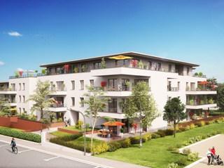 Appartement immobilier neuf pour défiscalisation en loi pinel dans le 54 à Villers-les-Nancy