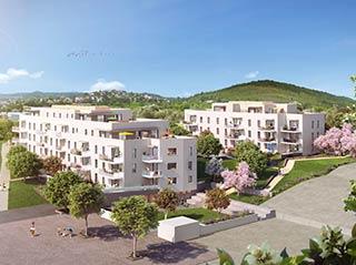Appartement immobilier neuf pour défiscalisation en loi pinel dans le 63 à Clermont-Ferrand