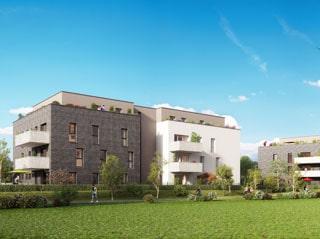 Appartement immobilier neuf pour défiscalisation en loi pinel dans le 67 à Achenheim