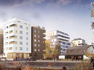 Appartement immobilier neuf pour défiscalisation en loi pinel dans le 67 à Schiltigheim