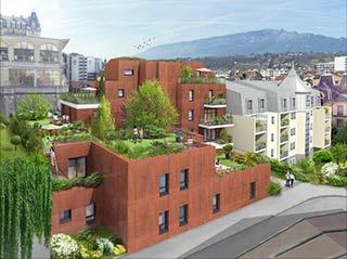 Appartement immobilier neuf pour défiscalisation en loi pinel dans le 73 à Aix-Les-Bains