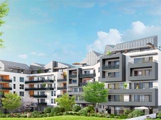Appartement immobilier neuf pour défiscalisation en loi pinel dans le 74 à St Julien en Genevois