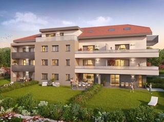 Appartement immobilier neuf pour défiscalisation en loi pinel dans le 74 à Etaux