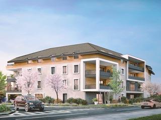 Appartement immobilier neuf pour défiscalisation en loi pinel dans le 74 à Douvaine