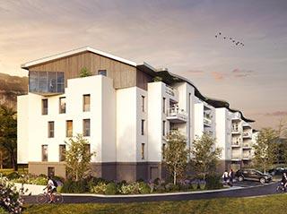 Appartement immobilier neuf pour défiscalisation en loi pinel dans le 74 à Etrembières