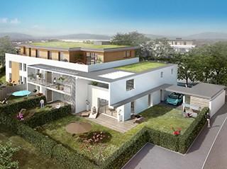 Appartement immobilier neuf pour défiscalisation en loi pinel dans le 74 à Annecy-le-vieux