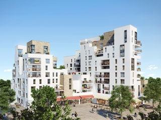 Appartement immobilier neuf pour défiscalisation en loi pinel dans le 78 à Achères