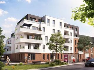 Appartement immobilier neuf pour défiscalisation en loi pinel dans le 80 à Amiens