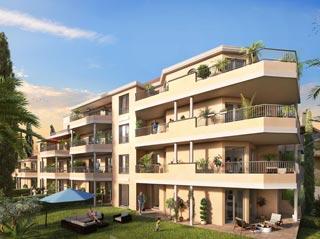 Appartement immobilier neuf pour défiscalisation en loi pinel dans le 83 à Cavalaire sur Mer