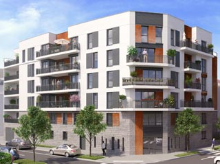 Appartement immobilier neuf pour défiscalisation en loi pinel dans le 92 à Bois-Colombes