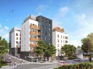 Appartement immobilier neuf pour défiscalisation en loi pinel dans le 93 à Bobigny