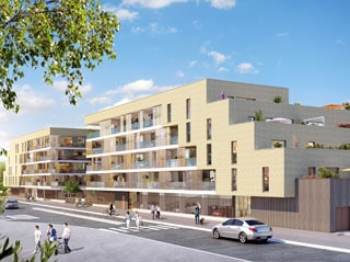 Appartement immobilier neuf pour défiscalisation en loi pinel dans le 33 à Merignac